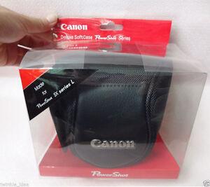 CANON-9166-de-lujo-de-cuero-caso-para-camara-PowerShot-SX40-HS