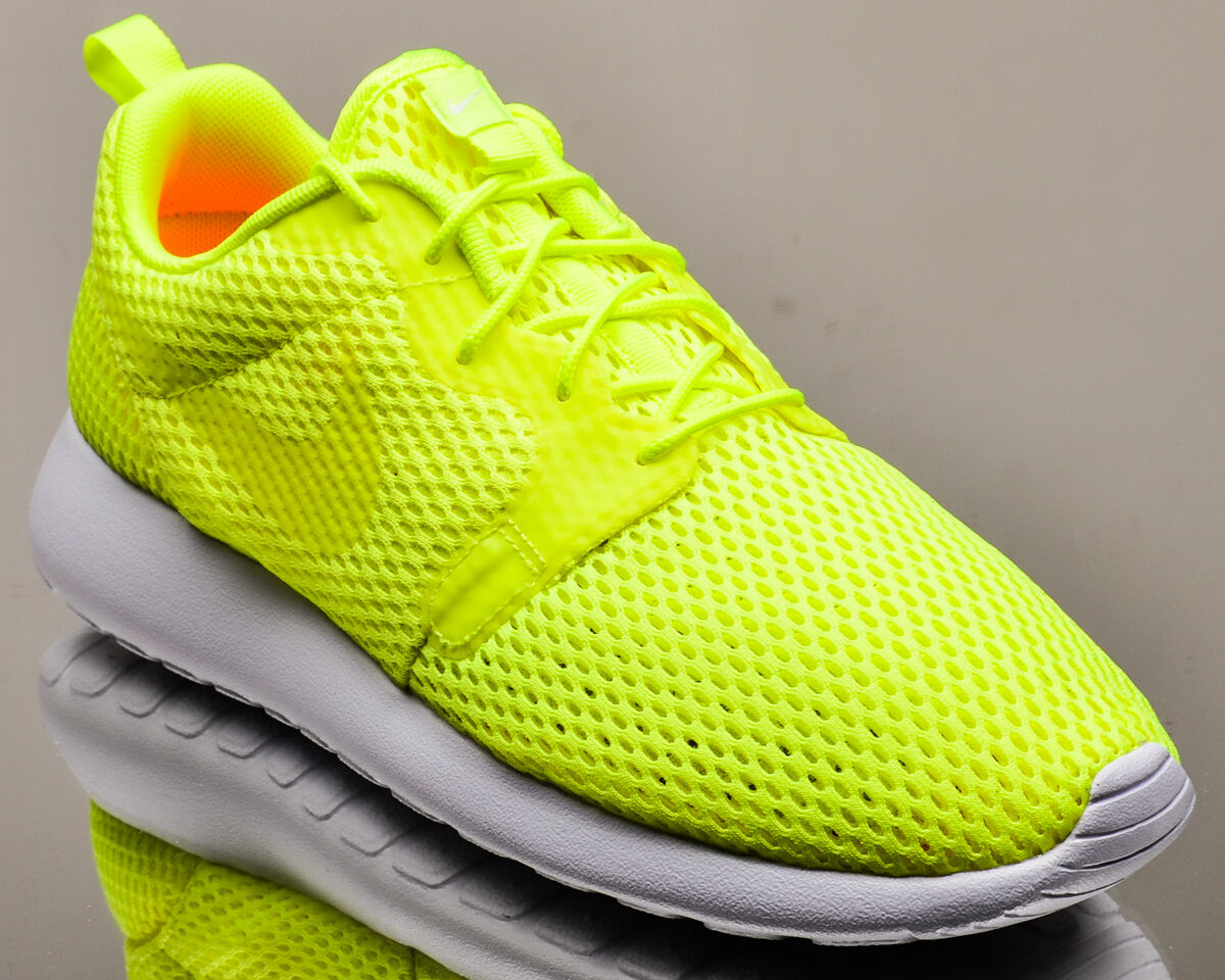 Nike Roshe One Hyperfuse BR men lifestyle casual sneakers rosherun NEW volt