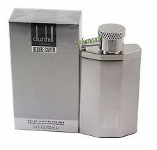 Dunhill Desire Silver London  3.3/3.4oz Edt Spray For Men New In Box