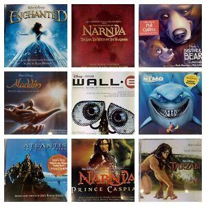 Large-collection-of-Disney-Soundtracks-Aladdin-Narnia-Atlantis-Nemo-9-pcs