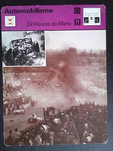 Sheet Editions Rencontre S.A Lausanne Motoring 24 Heures of / The Mans