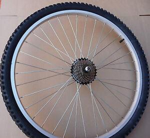 26-COMPLETE-Rear-Alloy-Mountain-Bike-Wheel-7-Speed-Shimano-Tyre-Innertube