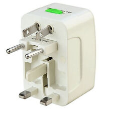 Universal International World Wide Multi Travel Plug Charger Adapter UK 3 Pin EU