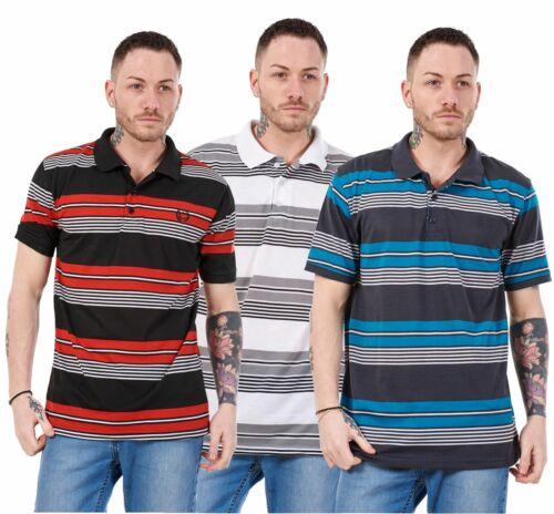 Camisas Prendas para el torso Informales Para hombres a Rayas Regular Fit Tees Clásico Camisetas Negro S a XXL