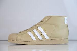 Adidas-Originals-Pro-Model-Linen-Khaki-Tan-CG5072-8-13-superstar-supreme-leather