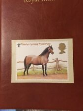 WELSH PONY - ROYAL MAIL PHQ 30 STAMP CARD