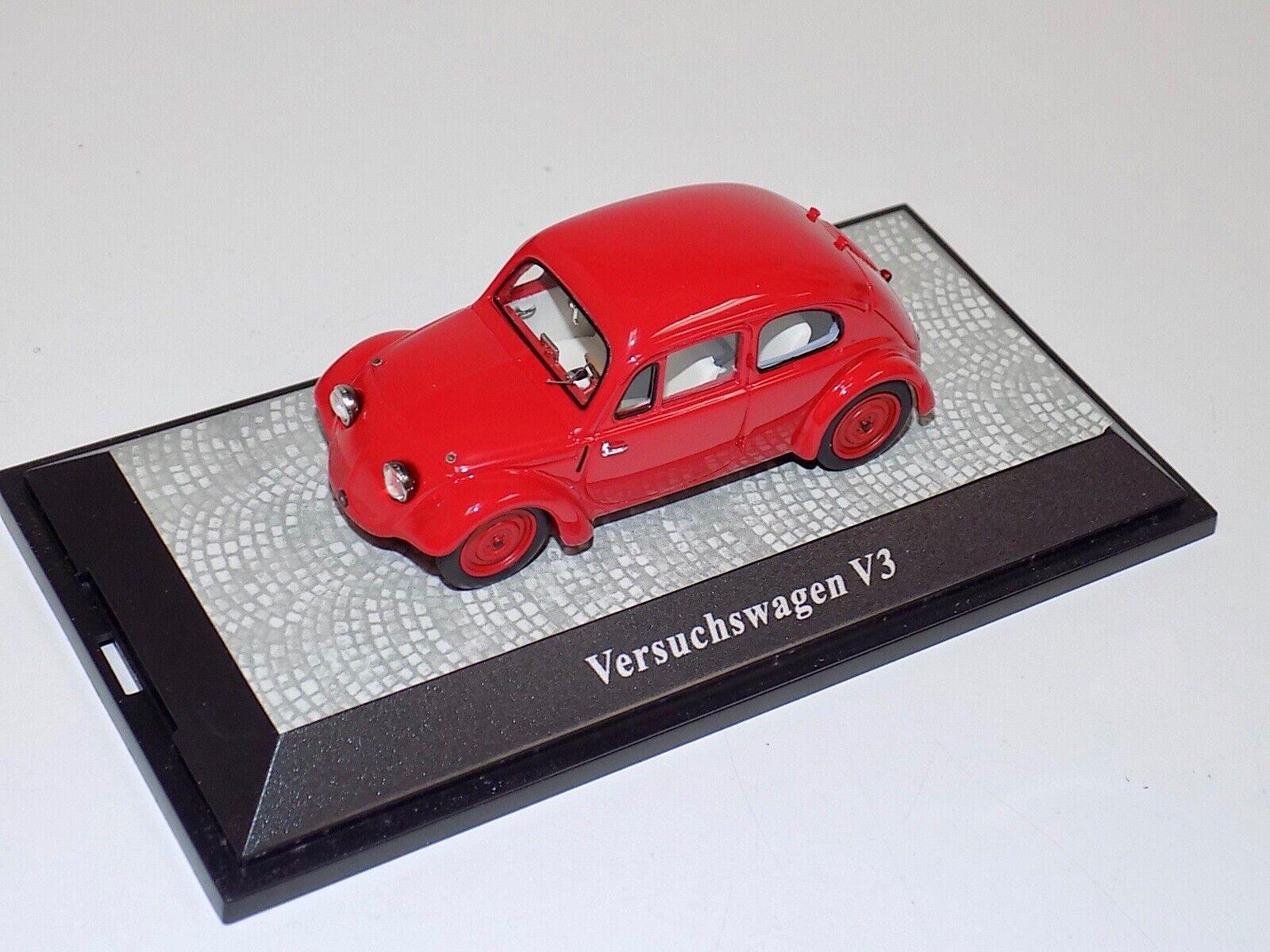 1 43 Premium ClassiXXs Volkswagen V3 prossootipo en rosso Limited 750