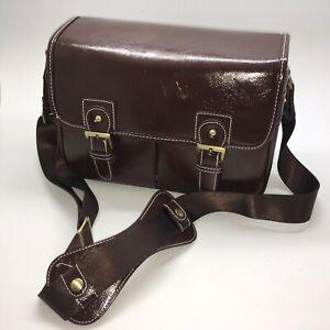 Camera-Bag-Shoulder-Messenger-Waterproof-Synthetic-Leather-Vintage-Fashion