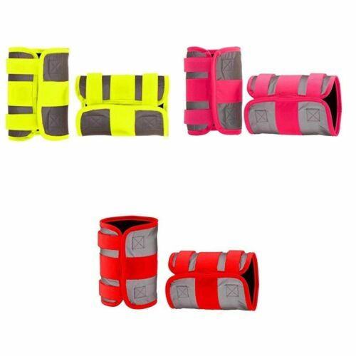 Equisafety Hi-Vis Reflective Mercury Leg Wraps