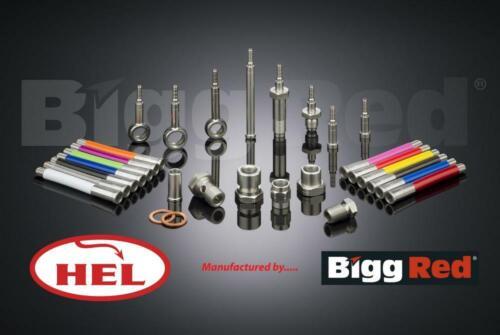 H1389AX for CHEVROLET MATIZ 2005-17 FRONT L /& R Brake Caliper Slider Bolt Kit