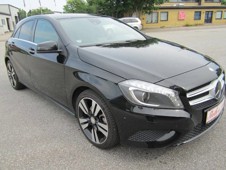 Brugt Mercedes A200 Exclusive aut. i Solrød og omegn