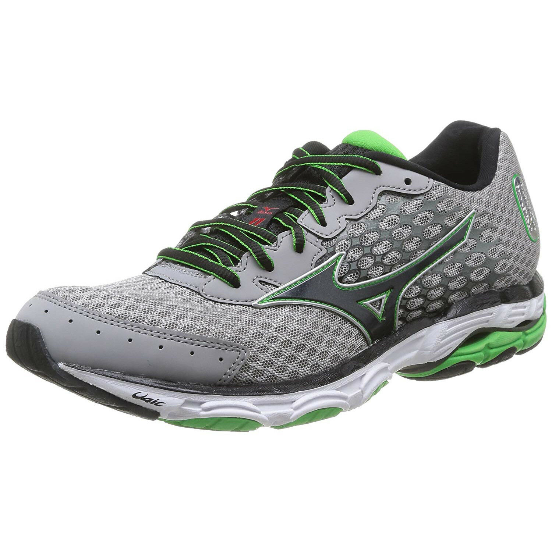 Mizuno Man's Wave Inspire 11 Running scarpe 410635 grigio   verde  bianca  negozio outlet