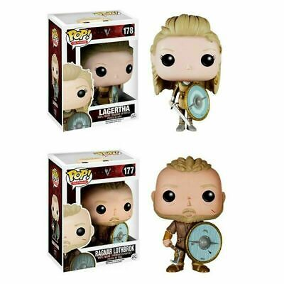 Funko Pop Vikings 178 Lagertha 177 Ragnar Lothbrok