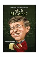 Who Is Bill Gates? (who Was?) Free Shipping