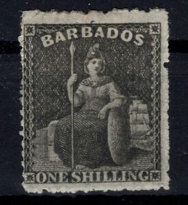 P133351-BRITISH-BARBADOS-SG-35-MINT-MH-SIGNED