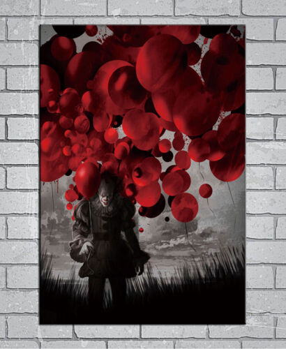 D-347 Hot IT 2017 Movie Stephen King Horrible Film PennyWise 27x40IN Art Poster