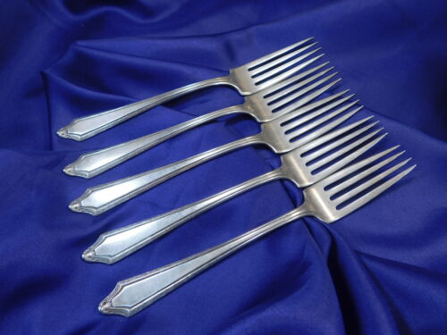 GOOD CONDITION S TOWLE VIRGINIA CARVEL STERLING SILVER DINNER FORK