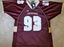 CENTRAL MICHIGAN CHIPPEWAS YOUTH NCAA FOOTBALL JERSEY #93 NEW! YOUTH XL