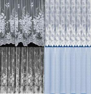 GREAT-VALUE-WHITE-NET-CURTAINS-5-NET-DESIGNS-FREE-POSTAGE
