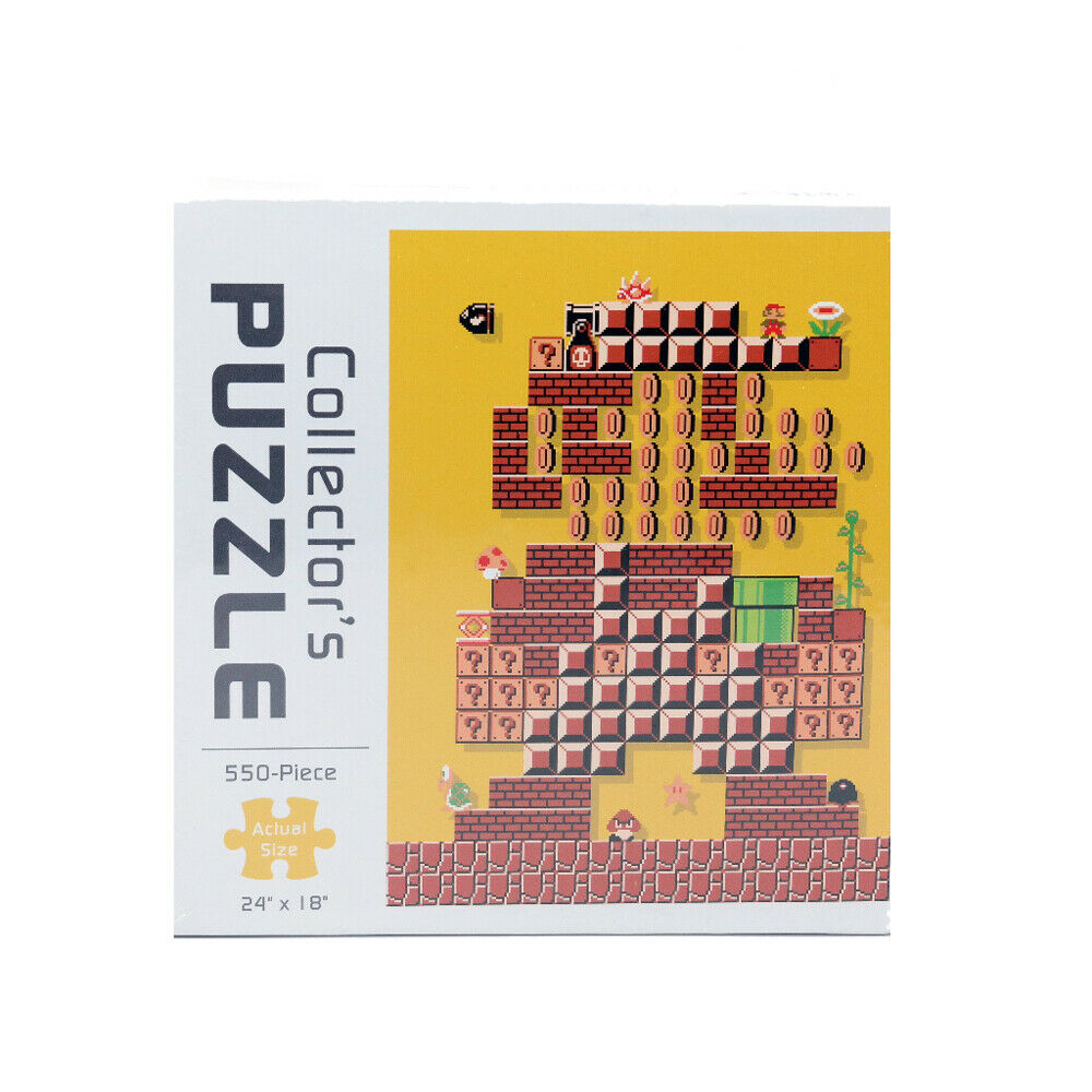 Mosaico Mosaico Mosaico de colecciones de Mario usaopoly 550pc a19