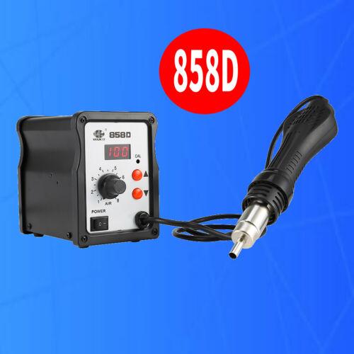 Hot Air Rework Digital Station Solder Blower Gun Desoldering 220V 858D SMD 700W