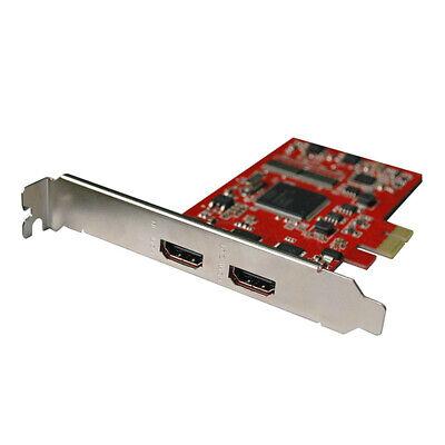 HDMI Video Capture Card PCI-E Grabber 1080P Video Sources Game OBS LivHV