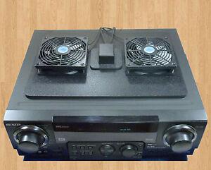 Receiver Amp Megabase 12 Volt Trigger Controlled Cooling
