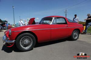 1968 MG MGB very rare hardtop
