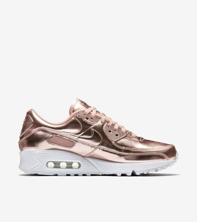 Size 8 - Nike Air Max 90 Metallic Pack - Rose Gold 2020 for sale ...