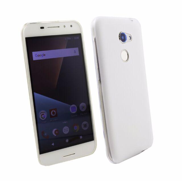 new arrival 89fe4 5dc49 Emartbuy Vodafone Smart V8 Matt GEL Skin Case Cover Clear