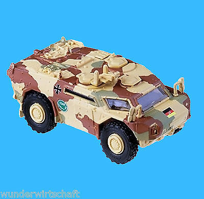 Minitanks H0 5000 LGS FENNEK ISAF getarnt Bundeswehr BW OVP HO 1:87 Roco Herpa