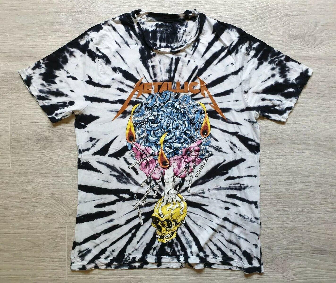 Rare Metallica by request European tour 2016 Größe XL T Shirt Short Sleeve
