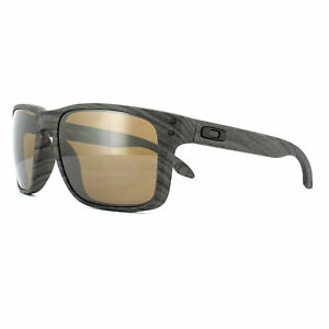 a3ce2a9199 Image is loading Oakley-Sunglasses-Holbrook-XL-OO9417-06-Woodgrain-Prizm-