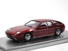 Kess Scale Models 1986 Porsche 928 4-Door Prototype purple metallic 1/43