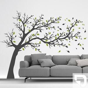 Das Bild Wird Geladen Wandtattoo Grosser Baum Zweifarbig Baum Wandtattoo  DESIGNSCAPE