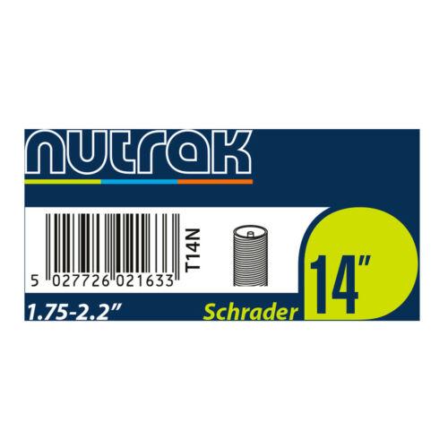Or Presta Car Type High Pressure Nutrak Butyl Inner Tubes Schrader