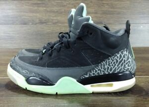 finest selection c221c 680b4 Image is loading NIKE-AIR-JORDAN-SON-OF-LOW-BLACK-GREEN-