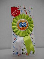 COCCARDA SPILLA 60 ANNI Gadget idea regalo festa 60° compleanno coccardina