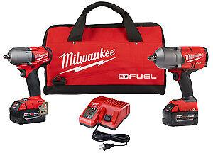 Milwaukee-2993-22-M18-High-Torque-1-2-034-And-3-8-034-Impact-Kits