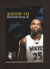 Al Jefferson--2009-10 Minnesota Timberwolves Schedule--KSTC