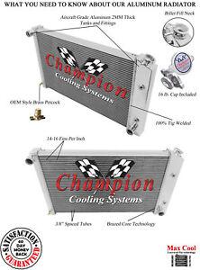 Eagle Racing 3 Row Alum Radiator For 1970-81 Pontiac Firebird//Trans AM