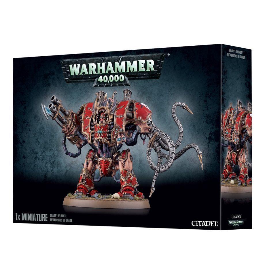 Warhammer 40K Chaos Helbrute plastic Nuovo