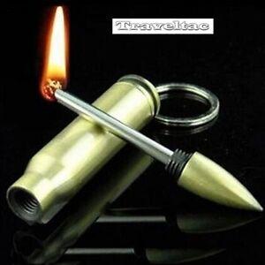 Magnesium-Feuerstarter-Wasserdicht-Feuerstein-Feuerstahl-EDC-Munitionsform