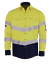 HI-VIS-SHIRT-NEW-DESIGN-SAFETY-COTTON-DRILL-WORK-Vents-UPF-50-LONG-SLEEVE thumbnail 42