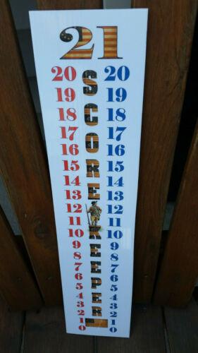 Minuteman Score Keeper Scoreboard Cornhole Set of 3 Betsy Ross