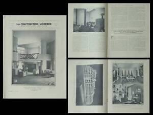 LA-CONSTRUCTION-MODERNE-n-39-1932-ART-DECO-RUHLMANN-ROLLIN-BOUCHET-ROUX-SPITZ