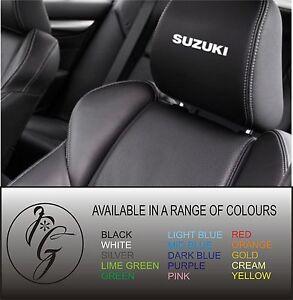 5-suzuki-car-seat-head-rest-decal-sticker-vinyl-graphic-logo-badge-free-post