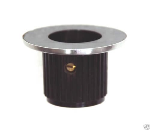 5pc Bakelite Round Screw type Knob RN-112B size=φ36.8xφ22.7x23.7mm h=φ6.4mm RoHS