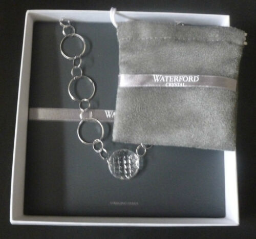 Waterford Crystal Argento Sterling ALANA 16 Collana 1st qualità in scatola NUOVO