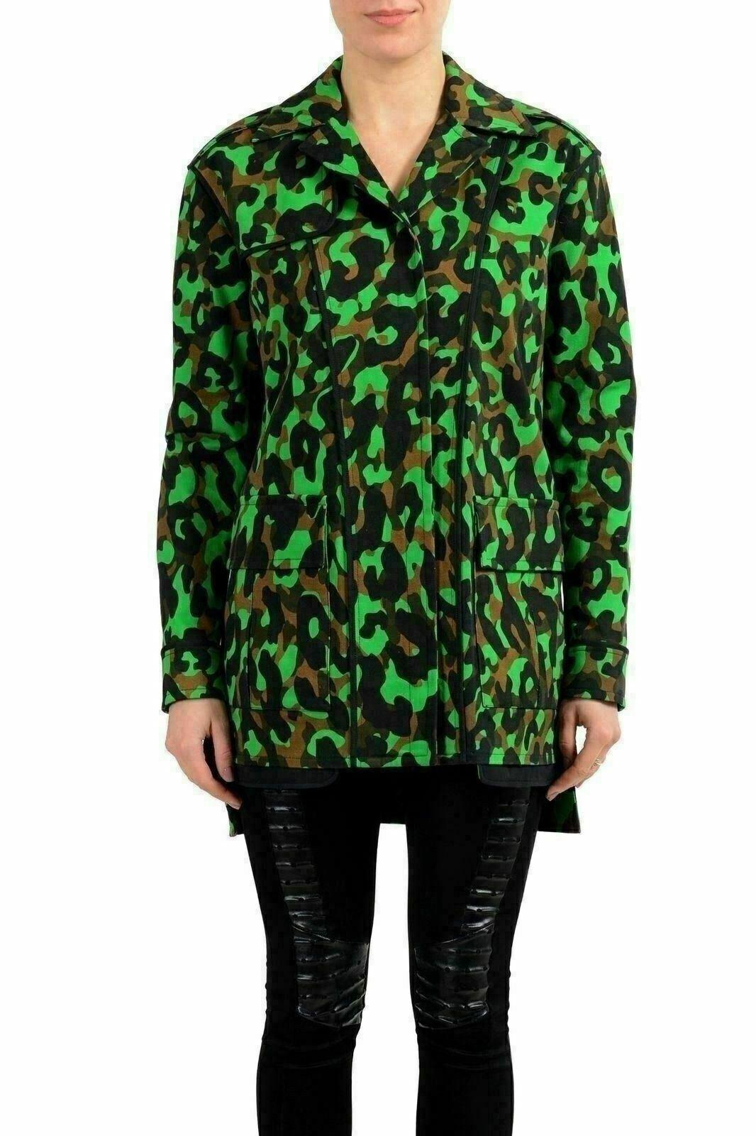 Versace Mehrfarbig Knöpfe Damen Einfach Mantel Us XS es 38